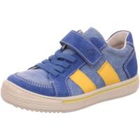 Schuhe Jungen Sneaker Low Ricosta Klettschuhe 71 5620300/131 blau