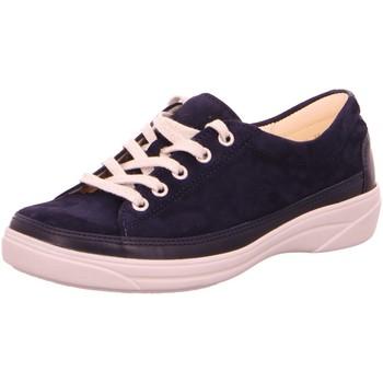 Schuhe Damen Sneaker Low Christian Dietz Schnuerschuhe Halbschuh Sportboden Blau Ascona Neu 2-1982051-25 blau