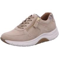 Schuhe Damen Sneaker Low Rollingsoft By Gabor Schnuerschuhe 46.938.34 beige