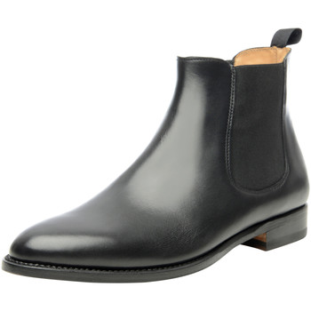Schuhe Damen Boots Shoepassion Stiefeletten No. 200 Schwarz