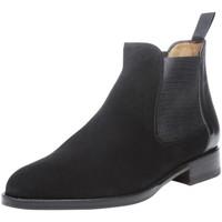 Schuhe Damen Boots Shoepassion Stiefeletten No. 2300 Schwarz