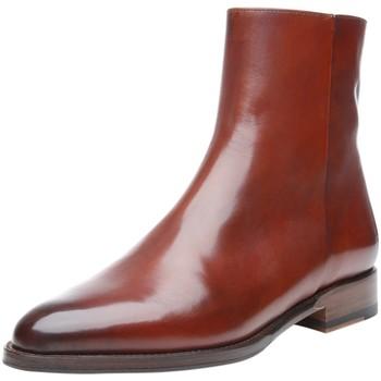 Schuhe Damen Boots Shoepassion Stiefeletten No. 2352 Brandy