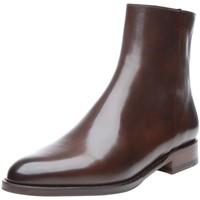 Schuhe Damen Boots Shoepassion Stiefeletten No. 2353 Schwarzbraun