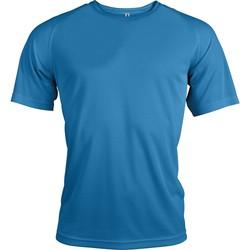 Kleidung Herren T-Shirts Proact T-Shirt manches courtes  Sport bleu ciel