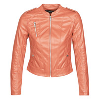 Kleidung Damen Lederjacken / Kunstlederjacken Vero Moda VMAWARDALMA Orange