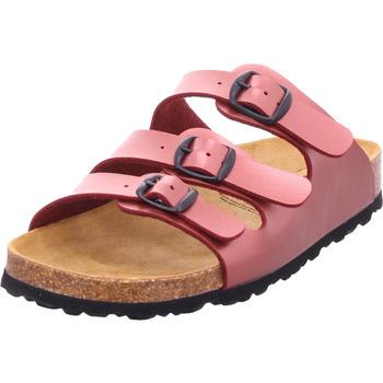 Schuhe Damen Pantoffel Lico Bioline Celina bordeaux