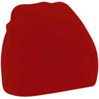 Accessoires Mütze Beechfield B44 Klassik Rot