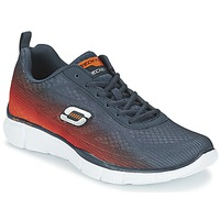 Schuhe Herren Multisportschuhe Skechers EQUALIZER Marine / Orange