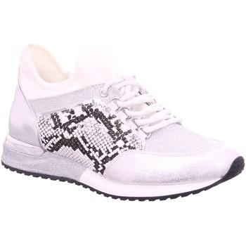 Schuhe Damen Sneaker Low La Strada Schnuerschuhe Laced up sneaker 1900356 1404 weiß