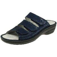 Schuhe Damen Pantoffel Rohde Pantoletten 5772-56 blau