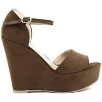 Schuhe Damen Sandalen / Sandaletten Made In Italia - beniamina Braun