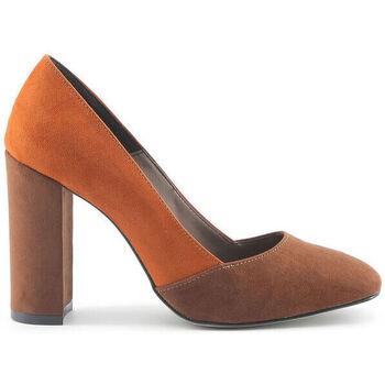 Schuhe Damen Pumps Made In Italia - giada Braun
