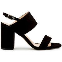 Schuhe Damen Sandalen / Sandaletten Made In Italia - favola Schwarz
