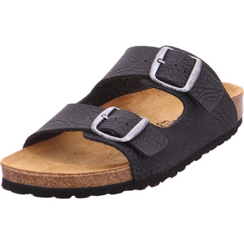 Schuhe Herren Pantoffel Bold - 0014-39 schwarz