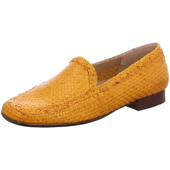 Schuhe Damen Slipper Sioux Slipper 60569 gelb