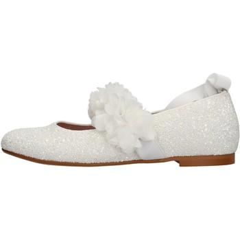 Schuhe Mädchen Sneaker Oca Loca - Ballerina bianco 8047-11 BIANCO