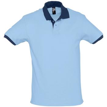Kleidung Herren Polohemden Sols PRINCE COLORS Azul
