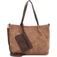 Taschen Damen Shopper / Einkaufstasche Emily & Noah Shopper Bag in Bag Surprise cognac brown 702