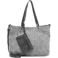 Taschen Damen Shopper / Einkaufstasche Emily & Noah Shopper Bag in Bag Surprise grey/darkgrey 808