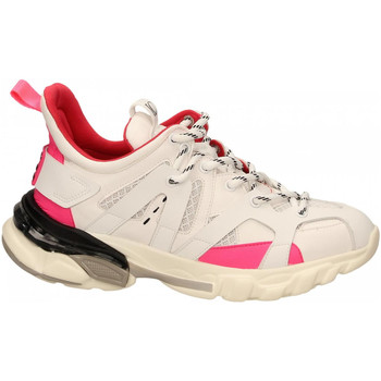 Schuhe Damen Sneaker Low La Carrie SNEAKER ALLACCIATA bianco
