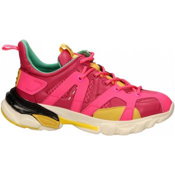 Schuhe Damen Sneaker Low La Carrie SNEAKER ALLACCIATA fuxia