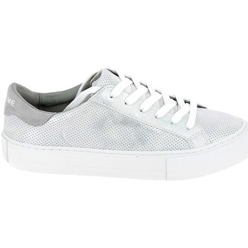 Schuhe Damen Sneaker Low No Name Arcade Punch Blanc Weiss