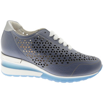Schuhe Damen Sneaker Low Calzaturificio Loren CLORA1041bl blu