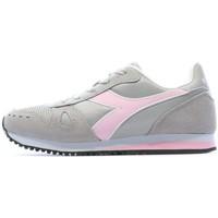 Schuhe Damen Sneaker Low Diadora 17438275042 Grau