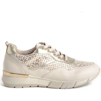 Schuhe Damen Sneaker Low Stephen Allen 10833-L7 Gold