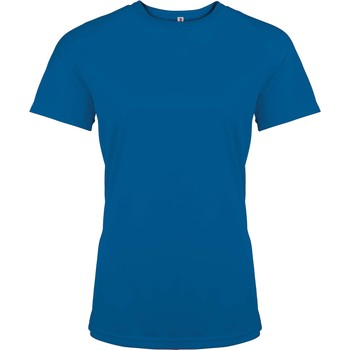 Kleidung Damen T-Shirts Proact T-Shirt femme manches courtes  Sport bleu marine