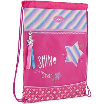 Taschen Mädchen Sporttaschen Skpat SHINE LIKE A STAR Nylon Fuchsia