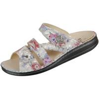 Schuhe Damen Pantoffel Finn Comfort Pantoletten Agueda 1538 673010 1538-673010 grau