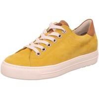 Schuhe Damen Sneaker Low Paul Green Schnuerschuhe Schnürhalbschuh 4741-066 gelb
