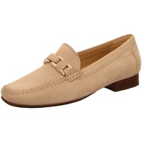 Schuhe Damen Slipper Sioux Slipper Cambria beige