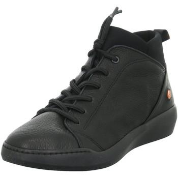 Schuhe Damen Boots Softinos Stiefeletten P900549009 schwarz