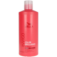 Beauty Damen Shampoo Wella Invigo Color Brilliance Shampoo Coarse Hair  500 ml
