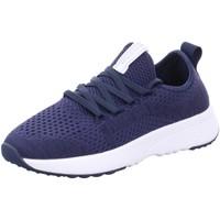 Schuhe Damen Sneaker Low Marc O'Polo Schnuerschuhe 15263502-600-890 blau