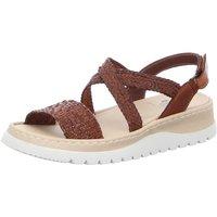 Schuhe Damen Sandalen / Sandaletten Brako Sandaletten INK 2226 Cuero braun