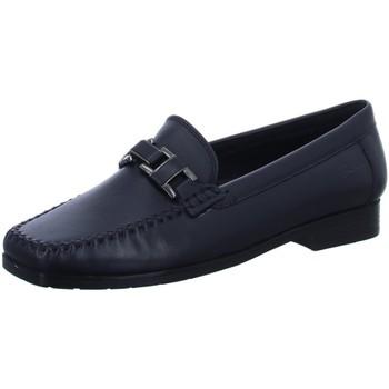 Schuhe Damen Slipper Sioux Slipper Cambria 60606 blau