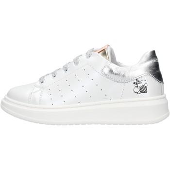 Schuhe Jungen Sneaker Low Balducci - Sneaker bianco/argento STAN1003 BIANCO