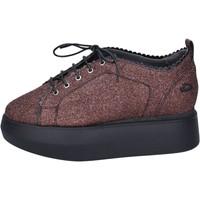 Schuhe Damen Sneaker Low Guardiani sneakers glitter rot