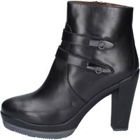 Schuhe Damen Low Boots Guardiani stiefeletten leder schwarz