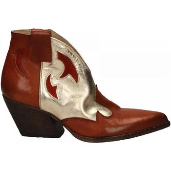 Schuhe Damen Low Boots Elena Iachi WASH cuoio-platino