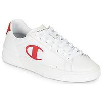 Schuhe Herren Sneaker Low Champion M 979 LOW Weiss / Rot