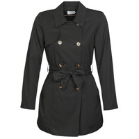 Kleidung Damen Trenchcoats Only ONLVALERIE Schwarz