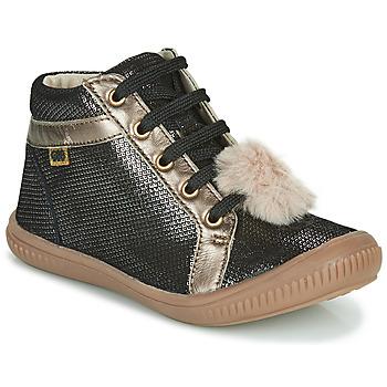Schuhe Mädchen Sneaker High GBB ISAURE Schwarz