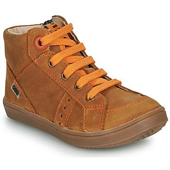 Schuhe Jungen Sneaker High GBB ANGELITO Braun