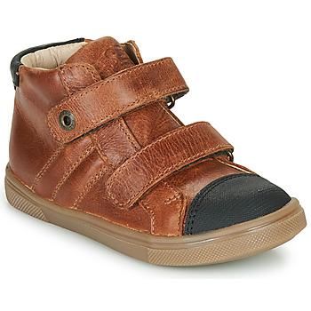 Schuhe Jungen Sneaker High GBB KERWAN Braun