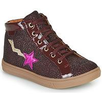 Schuhe Mädchen Sneaker High GBB TADEA Bordeaux