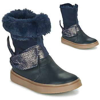 Schuhe Mädchen Klassische Stiefel GBB EVELINA Blau